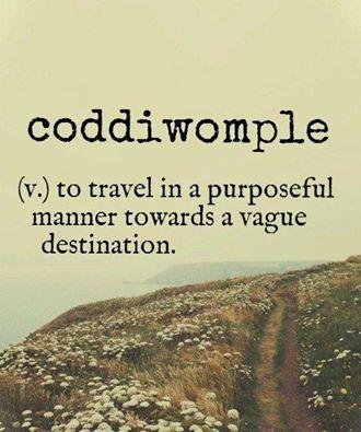 Coddiwomple